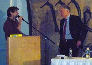 Bill Moyer and Ralph Nader