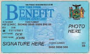 food stamp debit card-NY