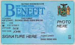 food stamp debit card-NY