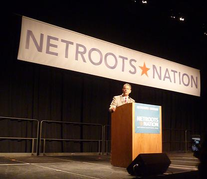 Feingold at Netroots 2011