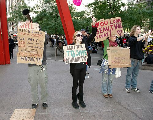 multi-message protesters