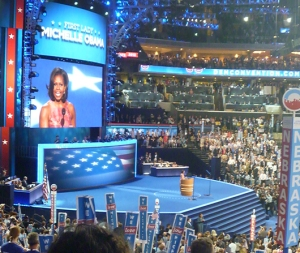Michelle Obama speaks to DNC2012
