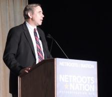 Sen. Jeff Merkley speaks at Netroots
