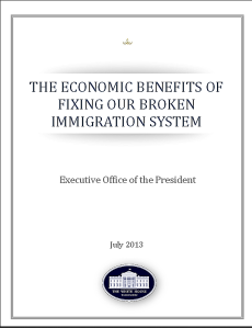 White House report on Economic Benefits of Fixing Immigration
