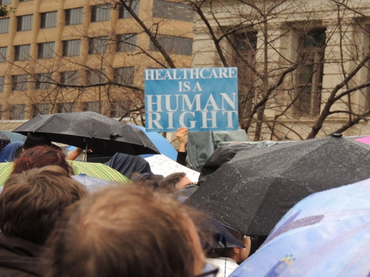 HumanRightSign-umbrellas
