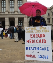 Barbara Adle calls Medicaid expansion a moral and ethical issue