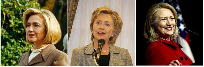 Hillary Clinton, 1997, 2007, 2013