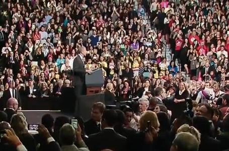 President Obama speaks at Del Sol High School, Las Vegas. Nov. 21, 2014 (whitehouse.gov)