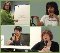 Jeana Brown, Dawn Collins, Haley Shank, Sharon Hill