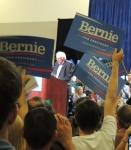 Bernie w placards