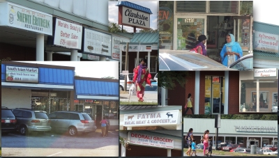 "Scenes from Clarkston, Georgia, ""the most ethnically diverse square mile in America."". (Click to enlarge.)"