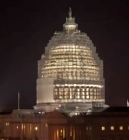 U.S. Capitol undergoing its first full restoration in 150 years. (From the Architect of the U.S. Capitol)